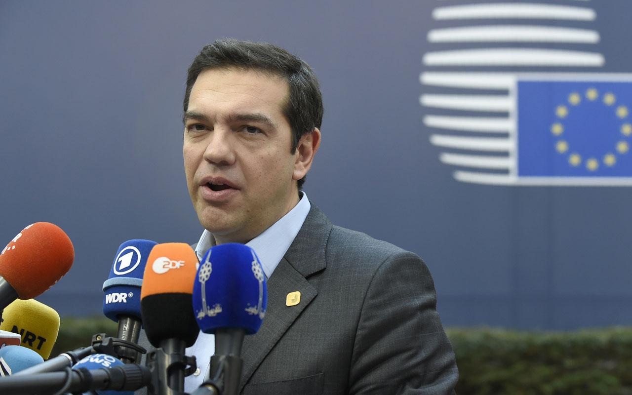 Greek Prime Minister Alexis Tsipras / AFP PHOTO / JOHN THYS