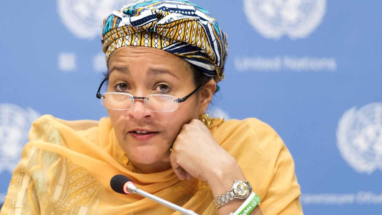 Minister of Environment, Hajia Amina Mohammed