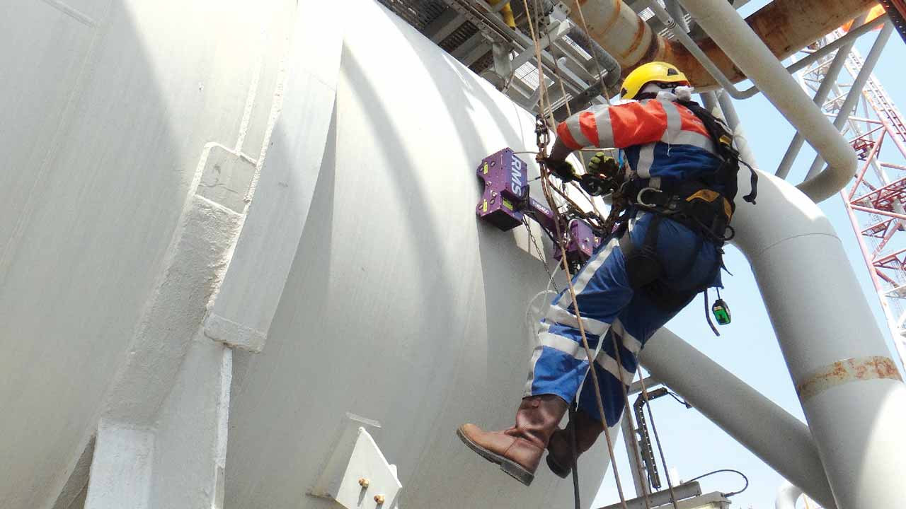 a RusselSmith engineer in safety operations