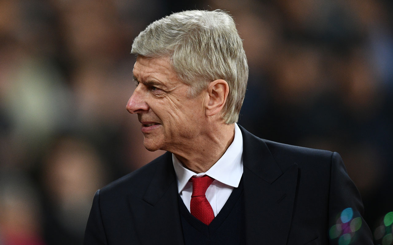 Arsenal's French manager Arsene Wenger  / AFP PHOTO / Justin TALLIS /