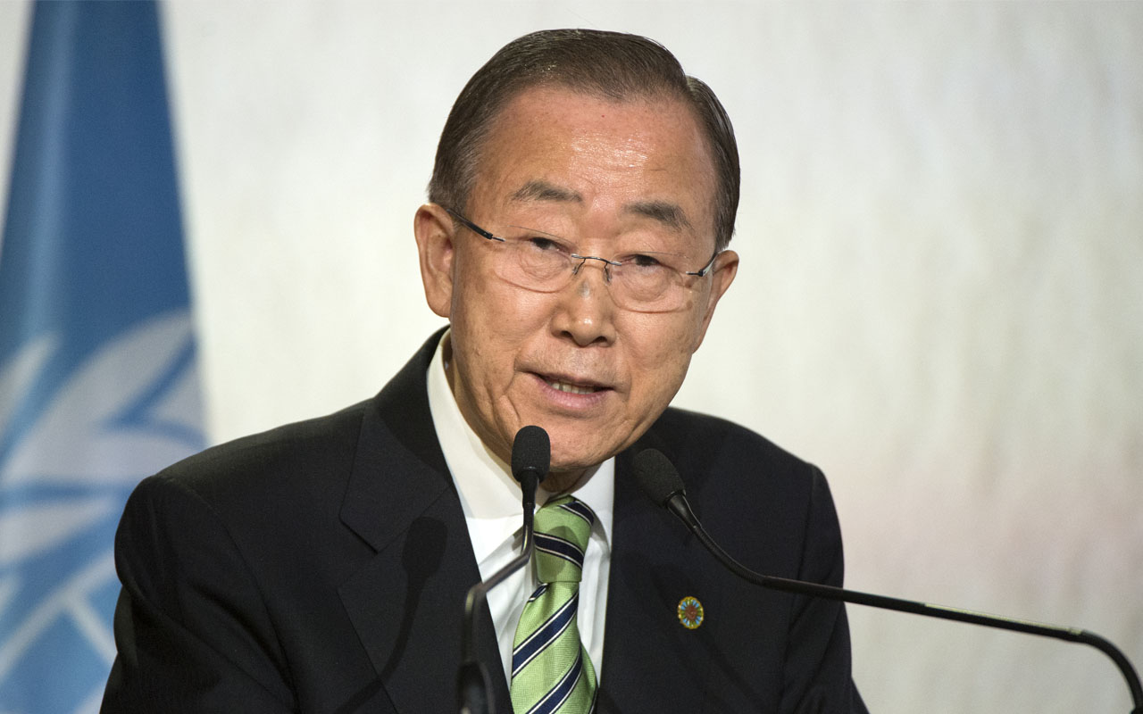 United Nations Secretary-General Ban Ki-moon / AFP PHOTO / FADEL SENNA