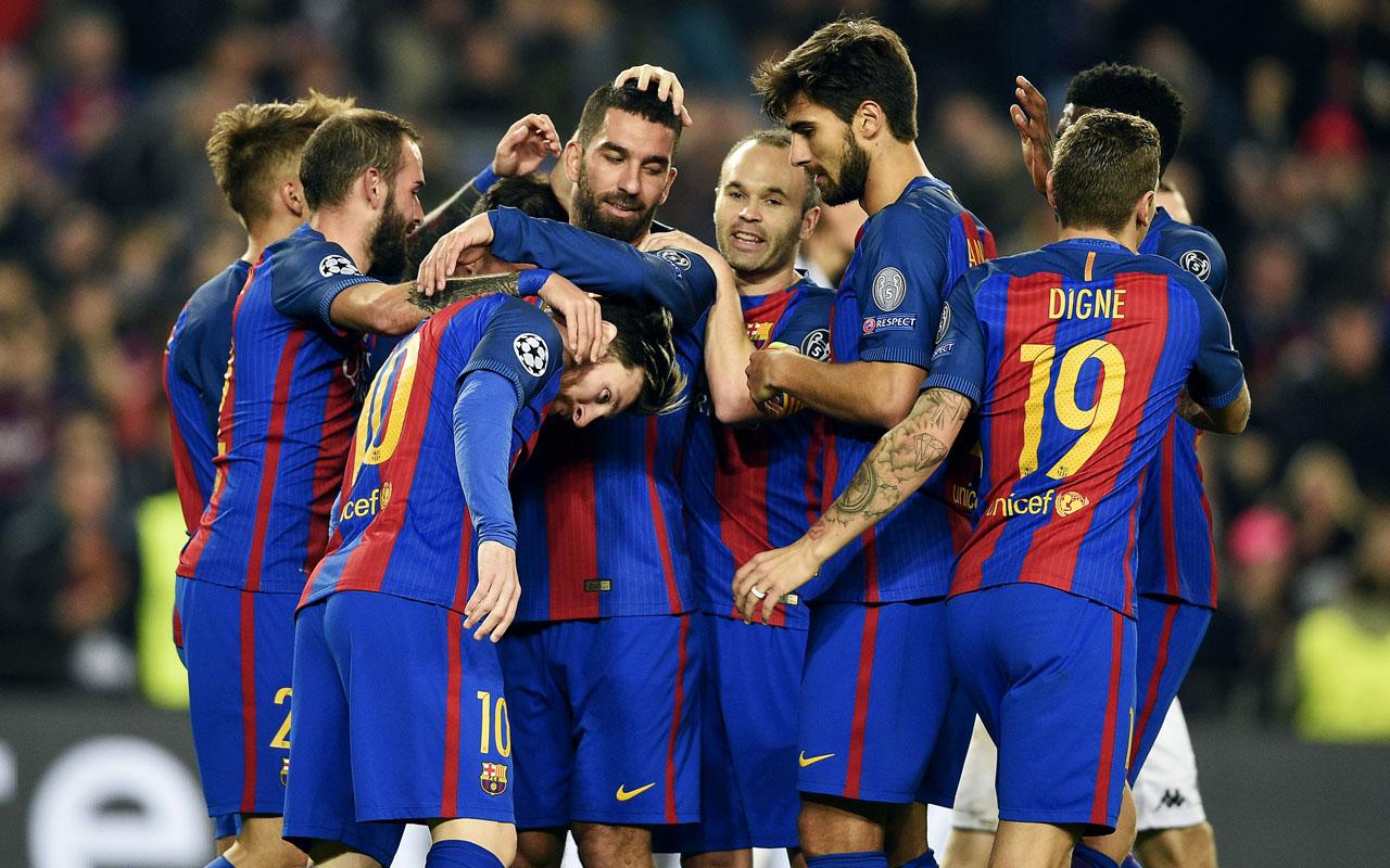 Barcelona / AFP PHOTO / LLUIS GENE