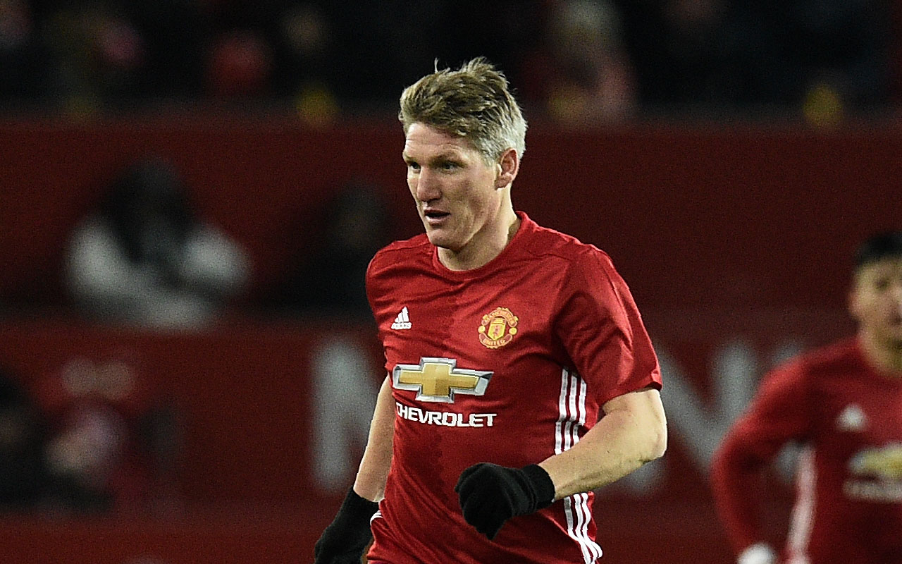 Manchester United's German midfielder Bastian Schweinsteiger  / AFP PHOTO / Oli SCARFF /