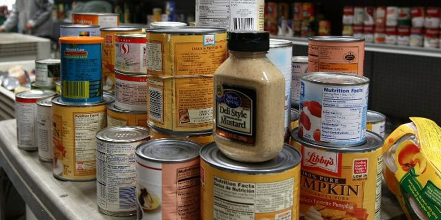 File photo of canned food. (Photo: Justin Sullivan/Getty Images North America/AFP)