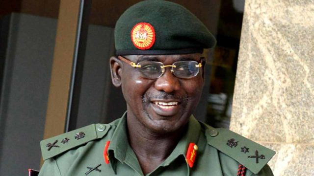 Always remain non-partisan, Buratai tells army officers