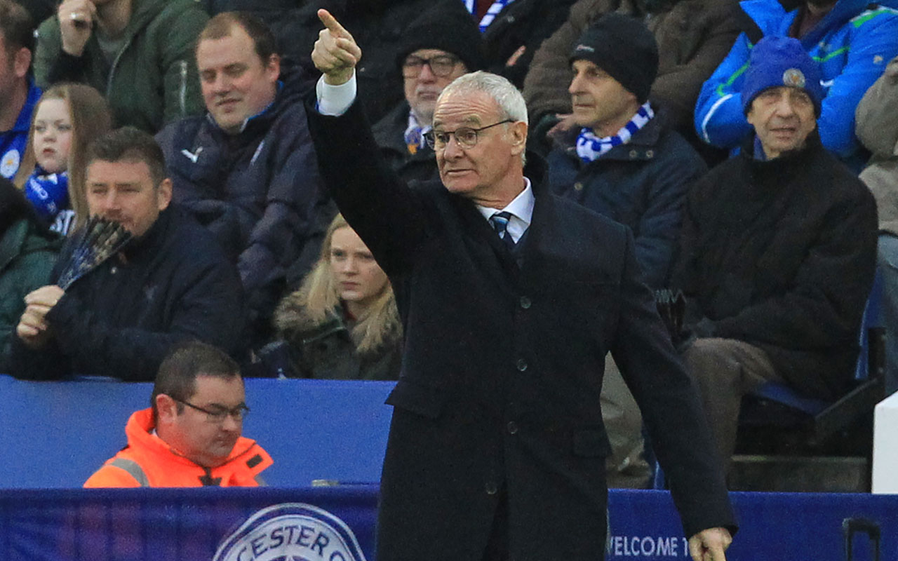Leicester City's Italian manager Claudio Ranieri / AFP PHOTO / Lindsey PARNABY /