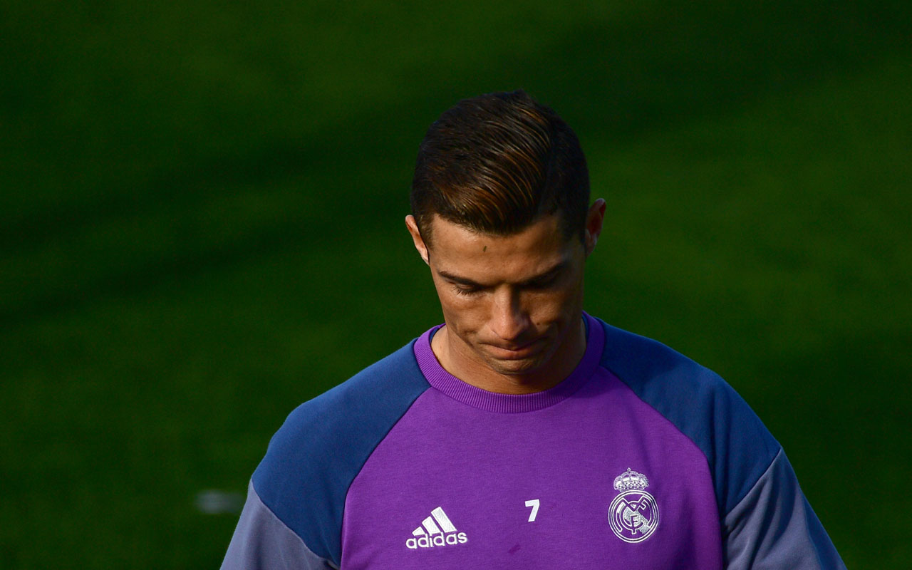 Real Madrid's Portuguese forward Cristiano Ronaldo / AFP PHOTO / PIERRE-PHILIPPE MARCOU