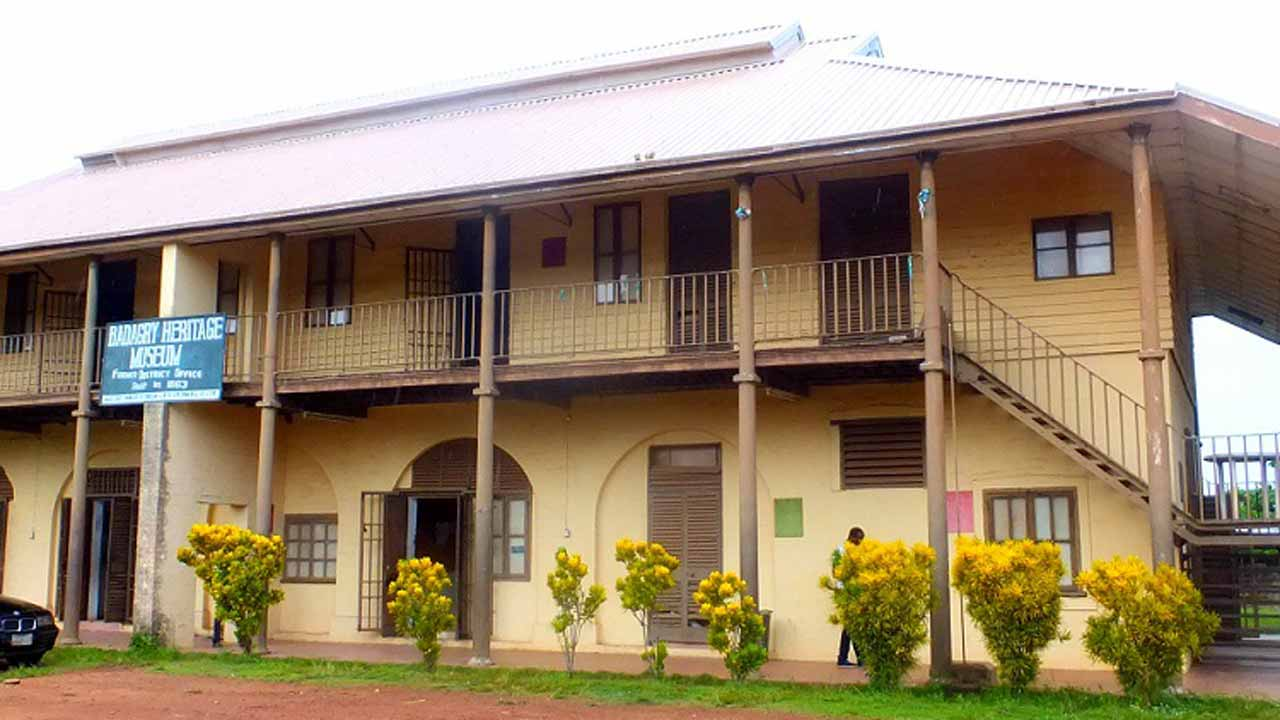 Neglected Badagry Slavery Museum