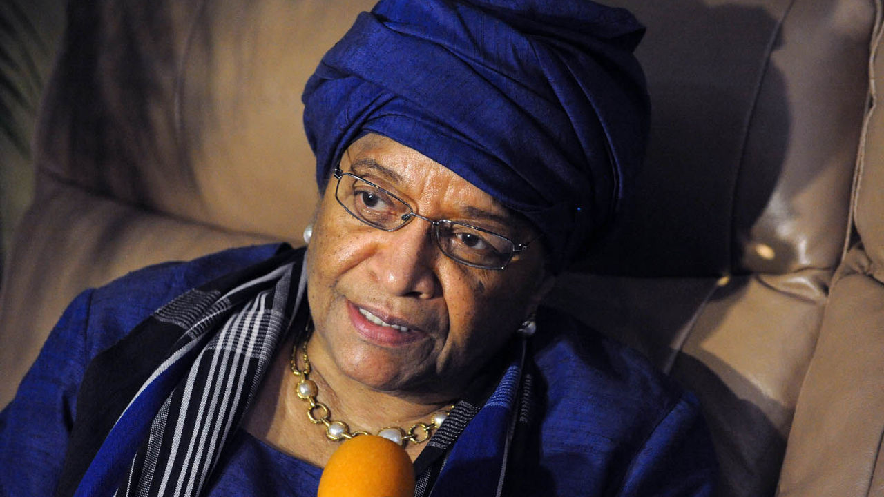 Ellen Johnson Sirleaf, ECOWAS chairman PHOTO:AFP
