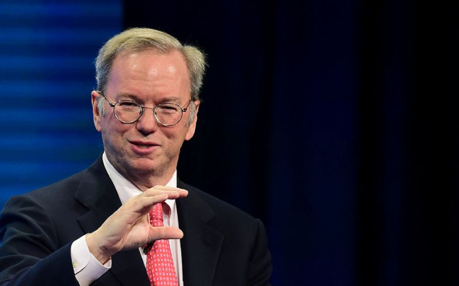 Eric Schmidt /AFP Photo/Frederic J. Brown