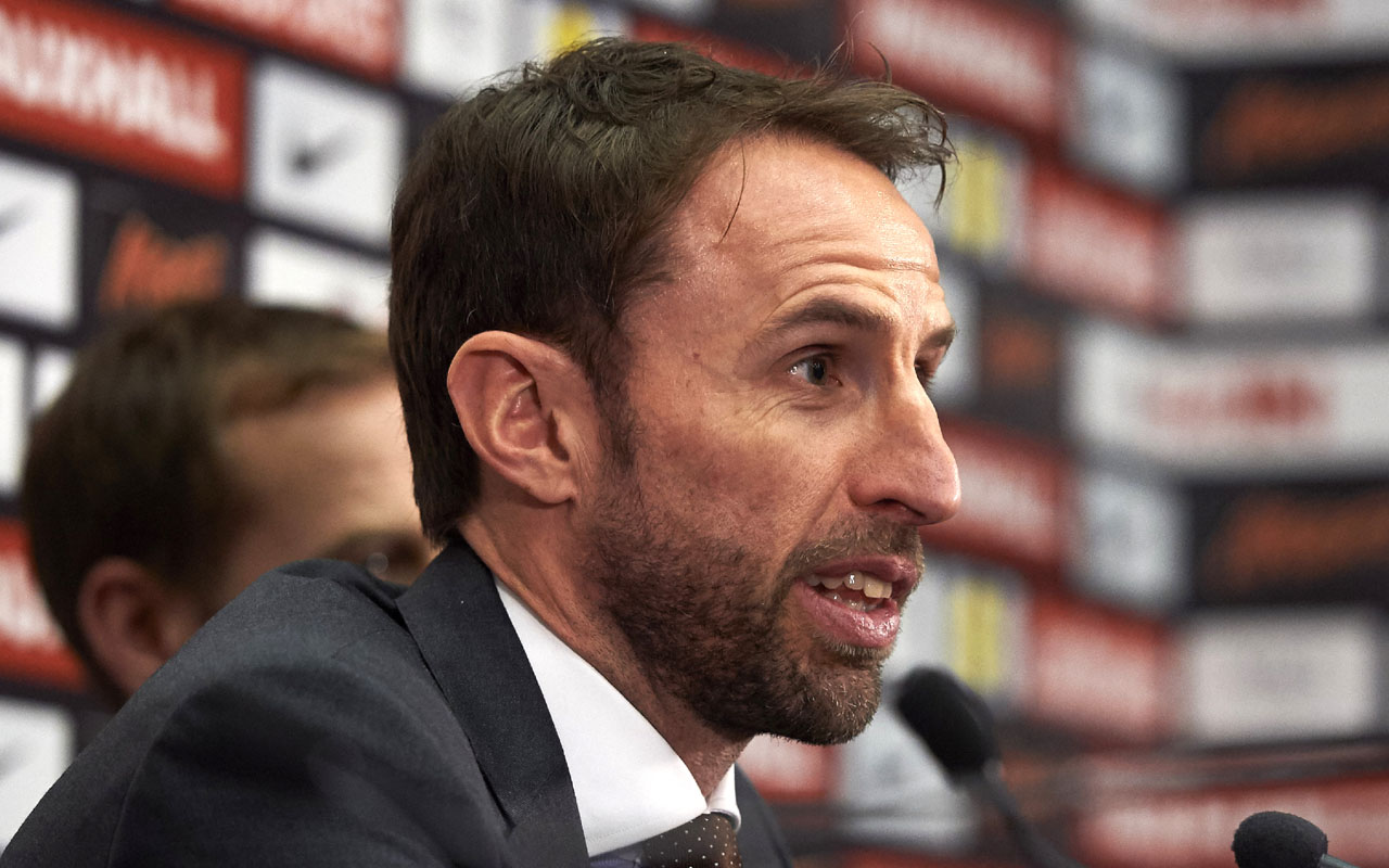 England's new manager Gareth Southgate  / AFP PHOTO / NIKLAS HALLE'N /