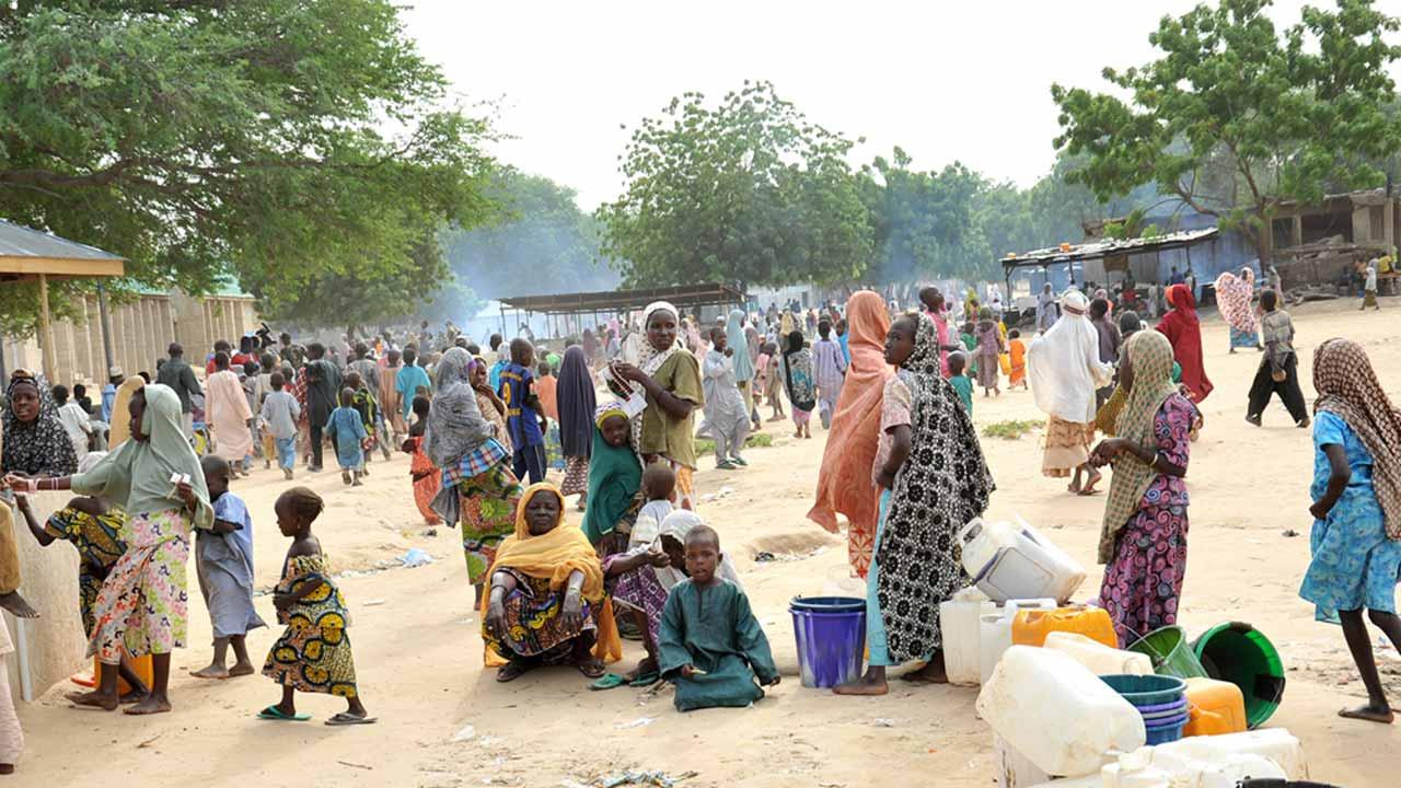 The Homeless Nigerian. PHOTO: UNHCR