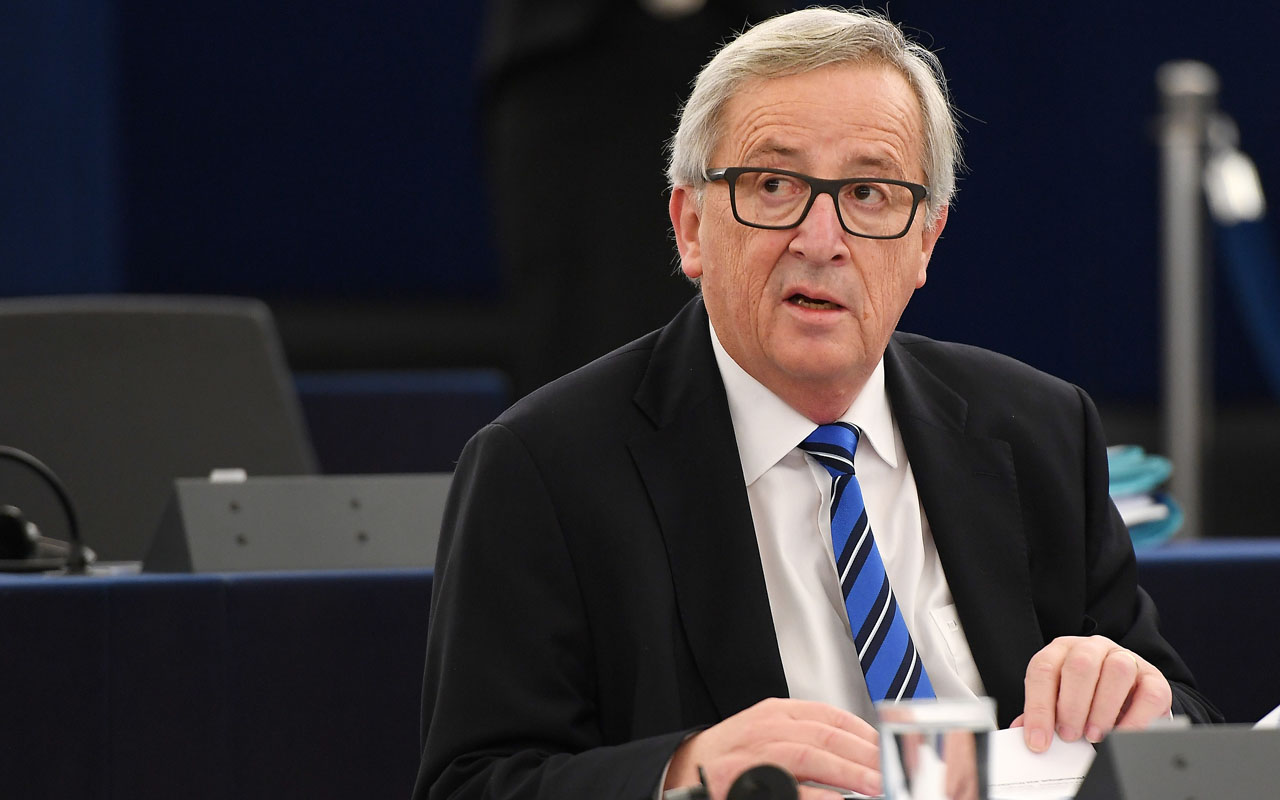 European Commission's President Jean-Claude Juncker  / AFP PHOTO / FREDERICK FLORIN
