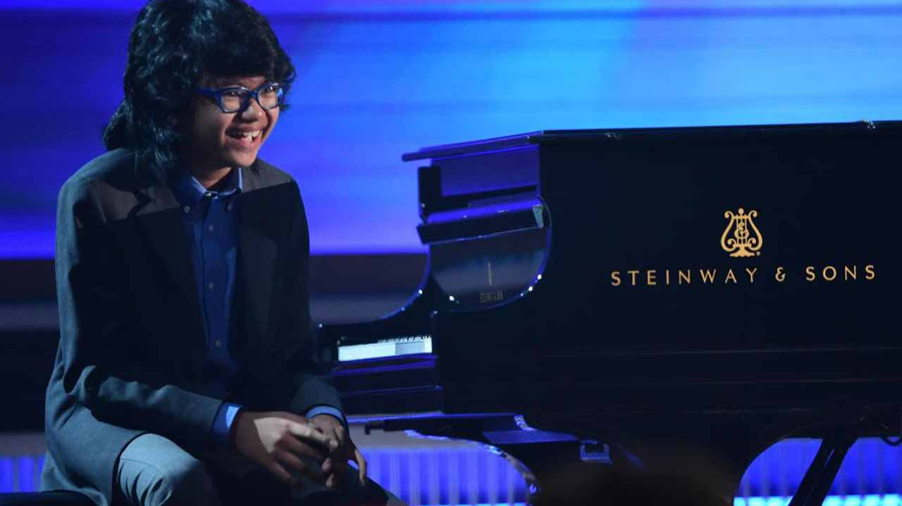 Joey Alexander. PHOTO: Robyn Beck/AFP/Getty Images