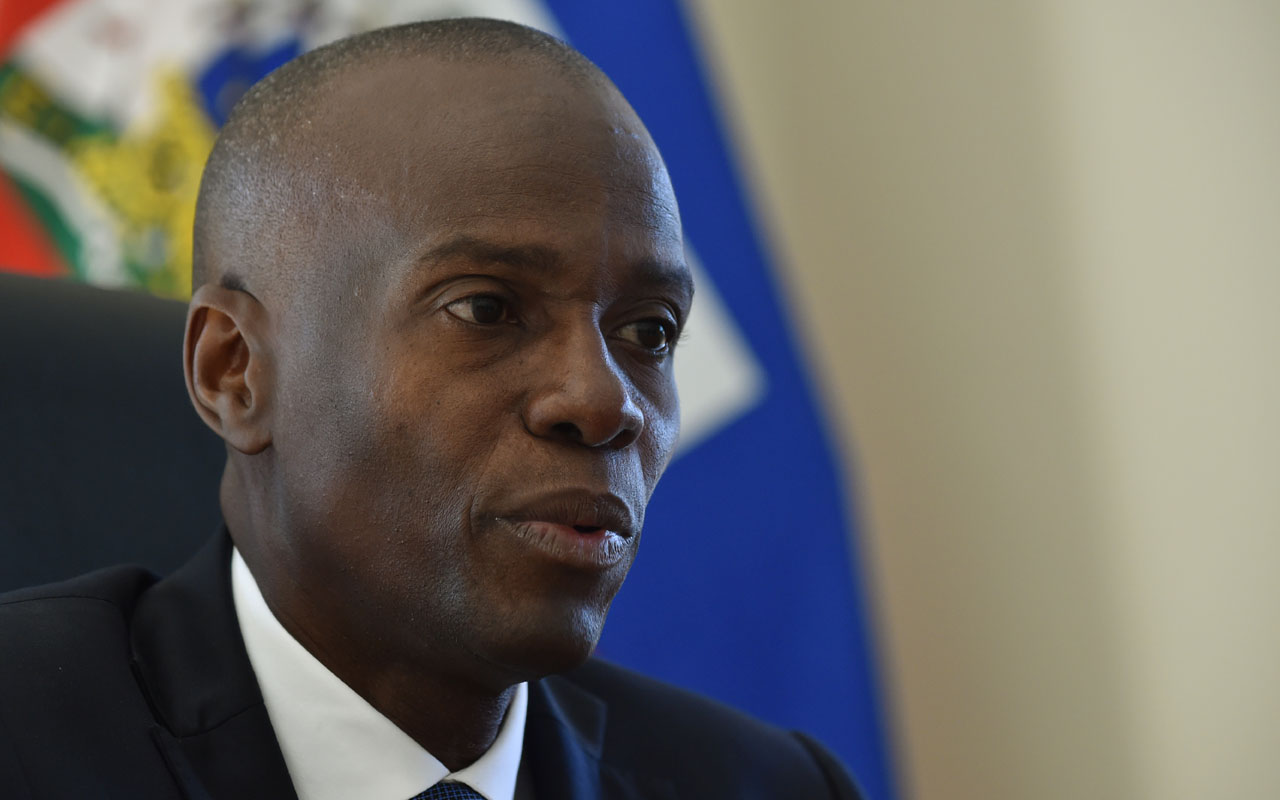 Jovenel Moise of PHTK political party, and new president of Haiti, according to the preliminary results that were given to the Provisional Electoral Council (CEP), speaks during an interview with AFP, in the commune of Petion Ville, in the Haitian capital Port-au-Prince, on December 1, 2016. / AFP PHOTO / HECTOR RETAMAL