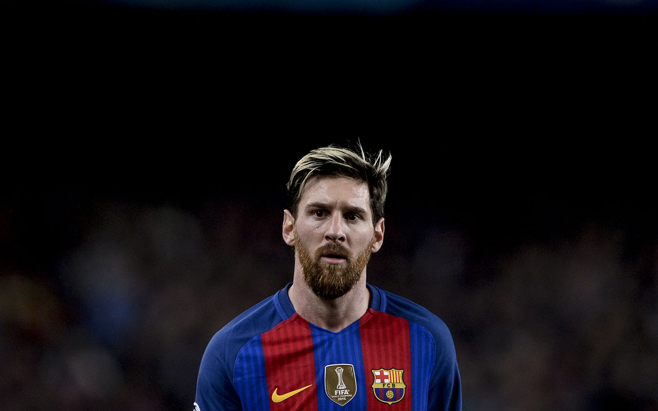 Barcelona's Argentinian forward Lionel Messi  / AFP PHOTO / JOSEP LAGO