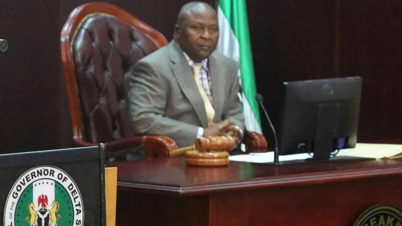 Monday Igbuya, Speaker, Delta State House of Assembly