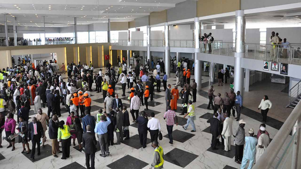 Stranded Med-View passengers protest at Lagos, London airports
