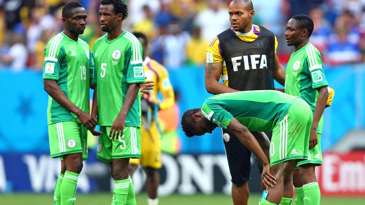 Super eagles. PHOTO:The Independent