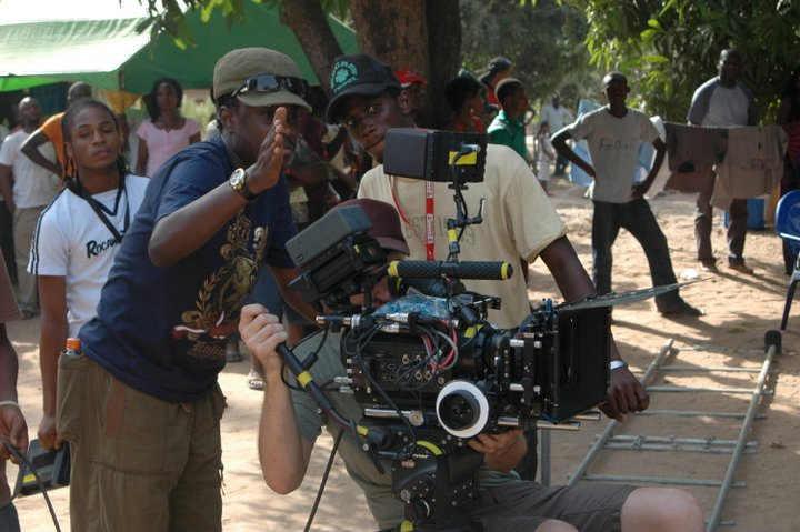 Nollywood director Jeta Amata PHOTO: Shadow and act