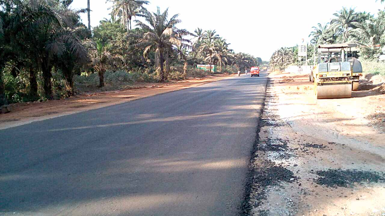 Image result for road rehabilitation in enugu