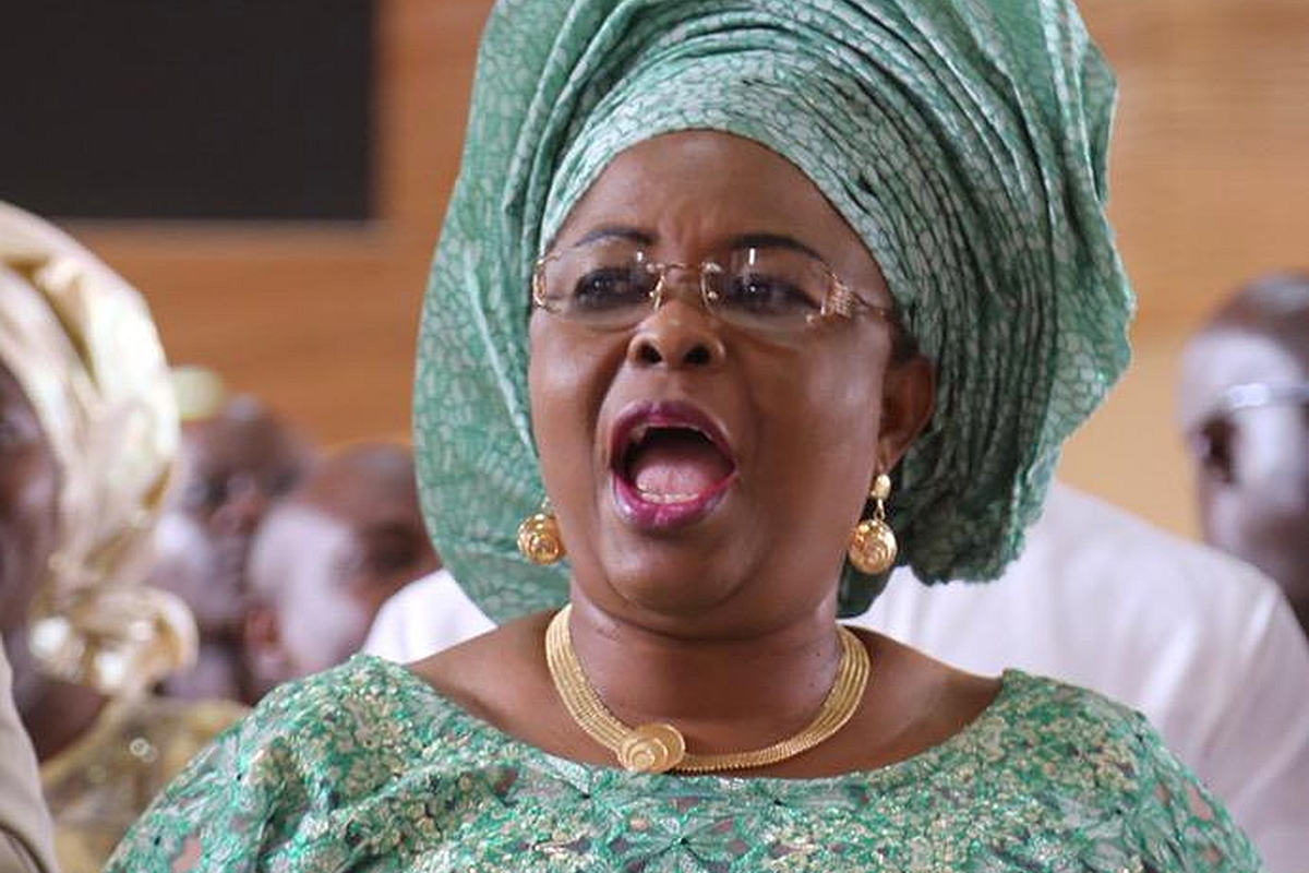 Ex-first lady, Patience Jonathan petitions National Assembly