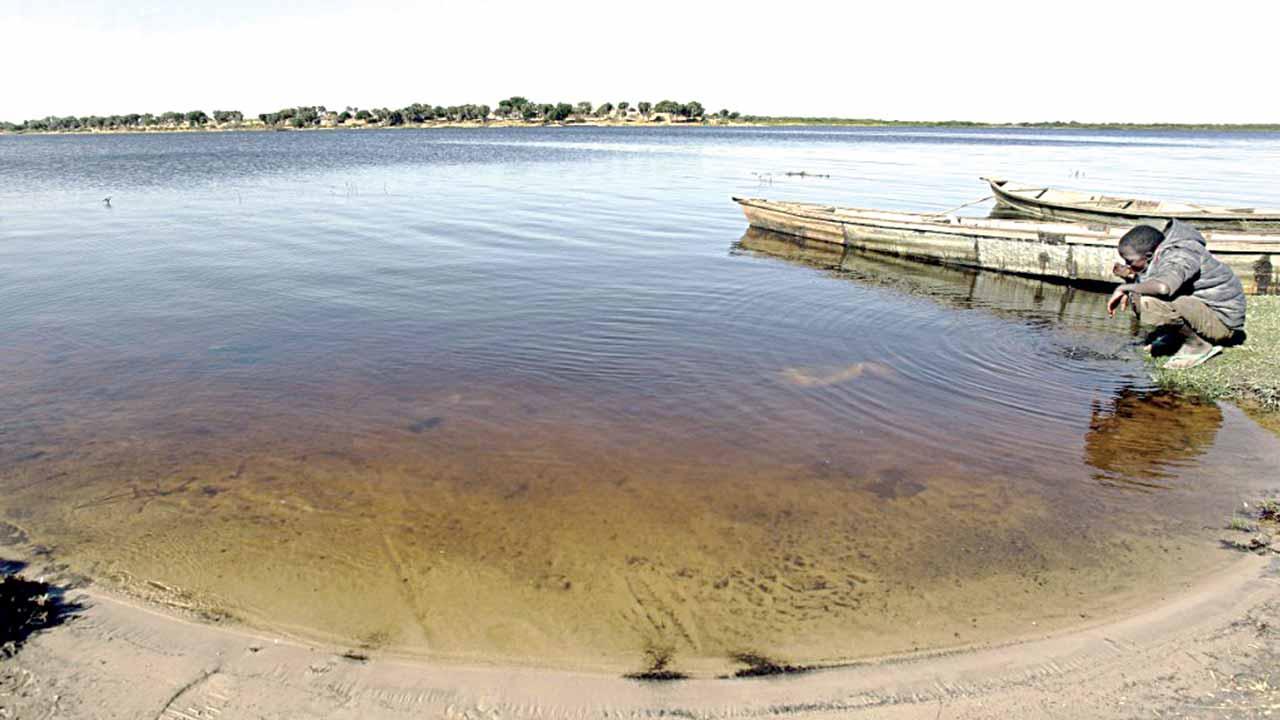 Receding Lake Chad