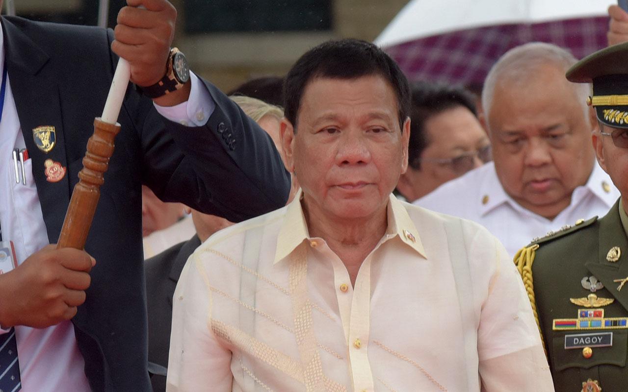 Philippines President Rodrigo Duterte / AFP PHOTO / TANG CHHIN SOTHY