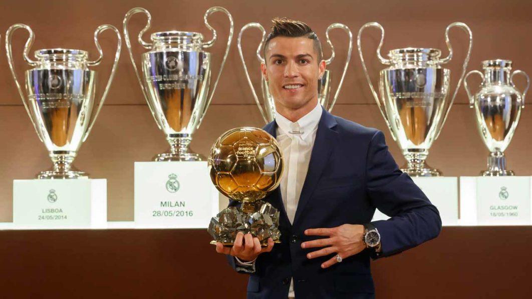Ronaldo 'confident' of winning Ballon D'Or