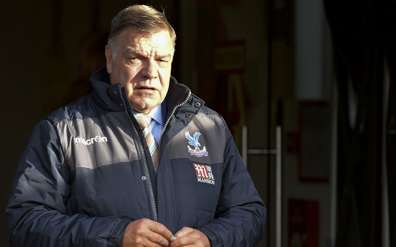 Crystal Palace's English manager Sam Allardyce / AFP PHOTO / OLLY GREENWOOD /
