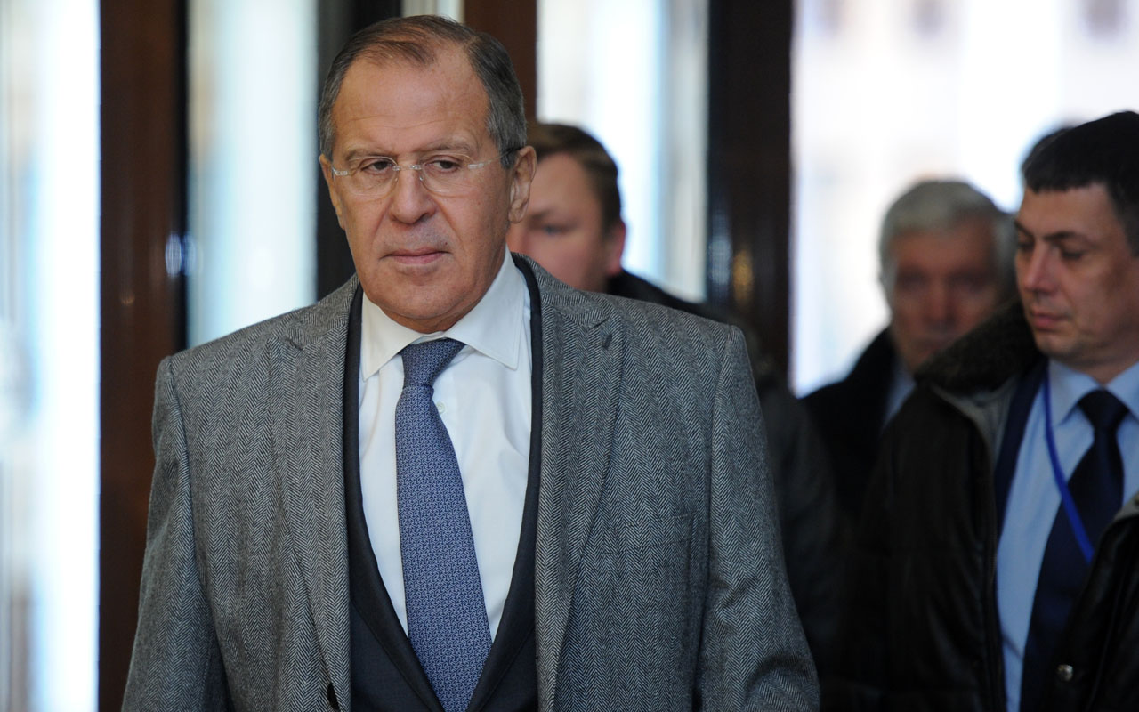 Russian Foreign Minister Sergei Lavrov  / AFP PHOTO / Sergei Gapon