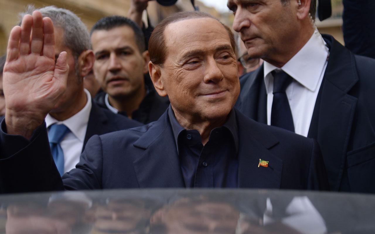 Italy's former Prime Minister Silvio Berlusconi / AFP PHOTO / Filippo MONTEFORTE