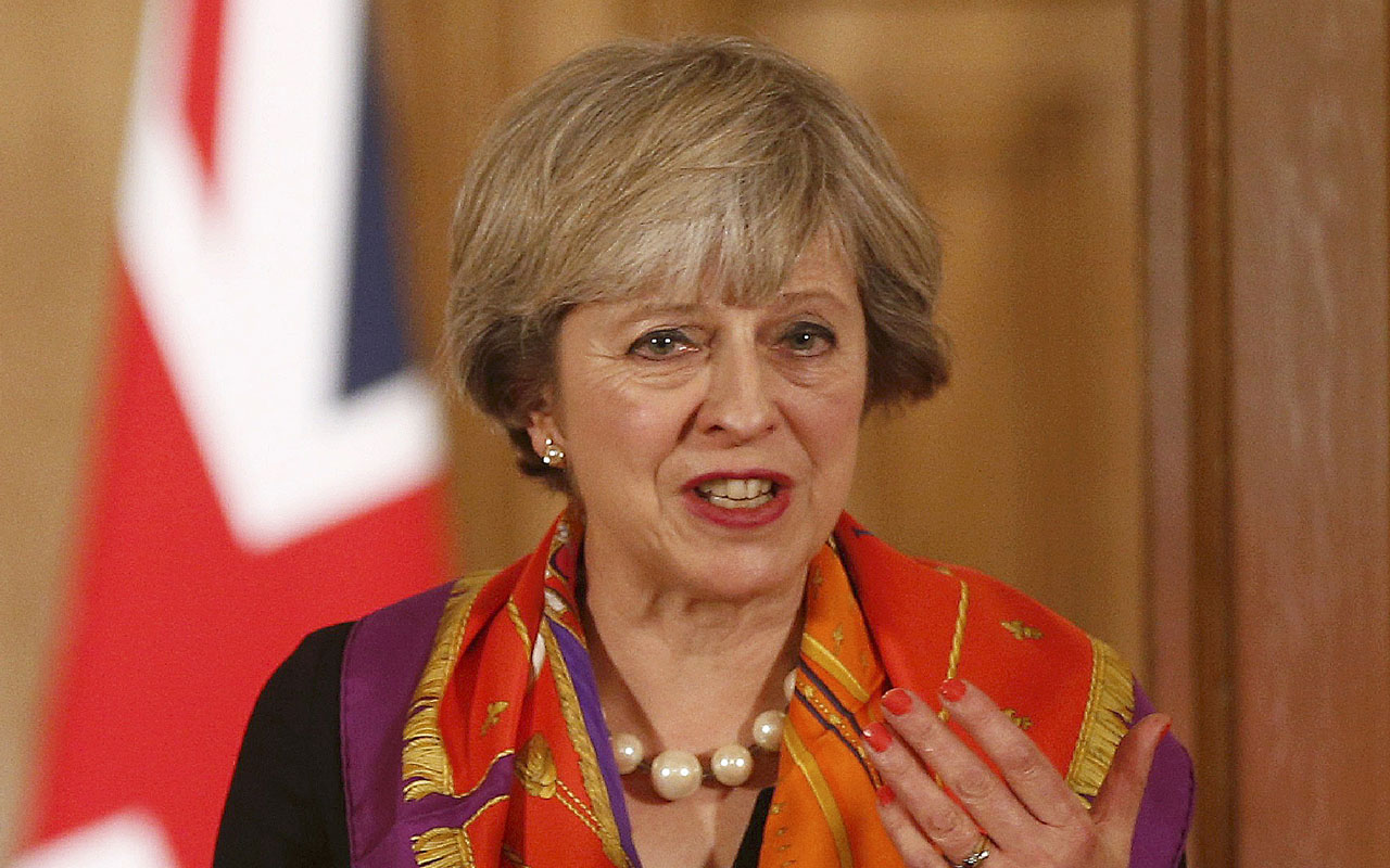 British Prime Minister Theresa May / AFP PHOTO / POOL / PETER NICHOLLS