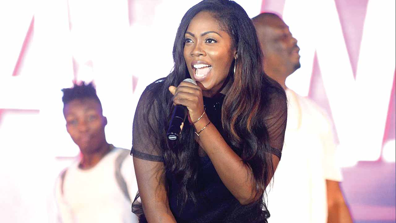 Tiwa Savage at One Lagos 2015