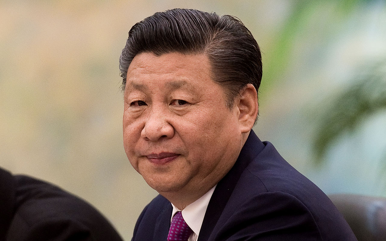 China's President Xi Jinping / AFP PHOTO / POOL / Nicolas ASFOURI AND NICOLAS ASFOURI