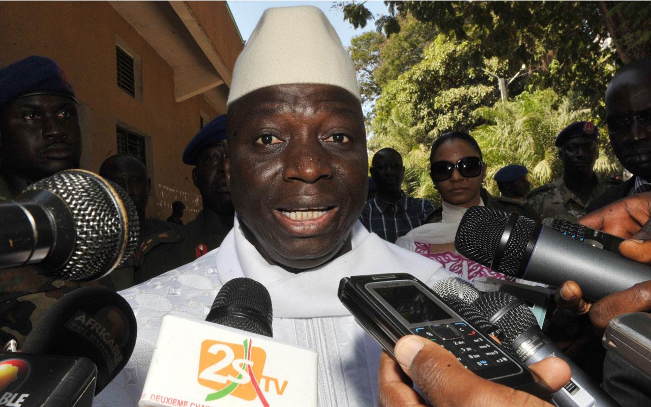 Former Gambian President, Yahya Jammeh AFP PHOTO / SEYLLOU