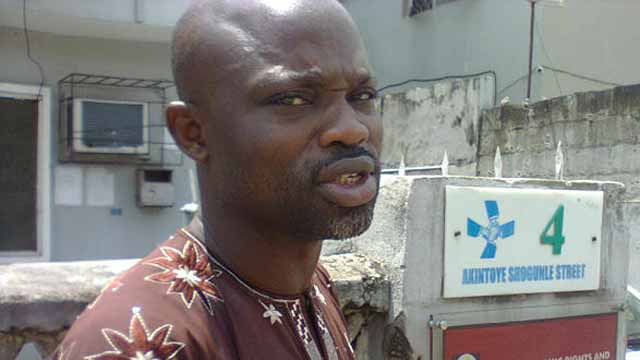 Executive Director, SERAP, Adetokunbo Mumuni,