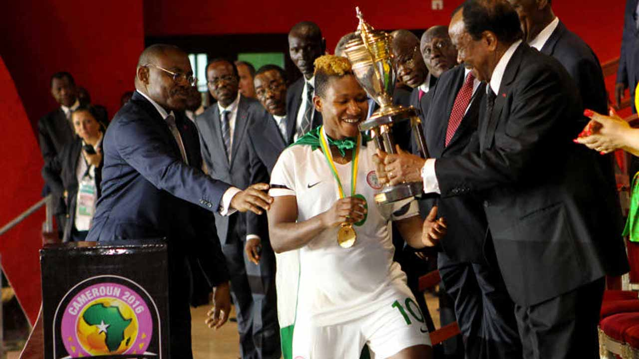 Nigeria's Super Falcons PHOTO: CAF
