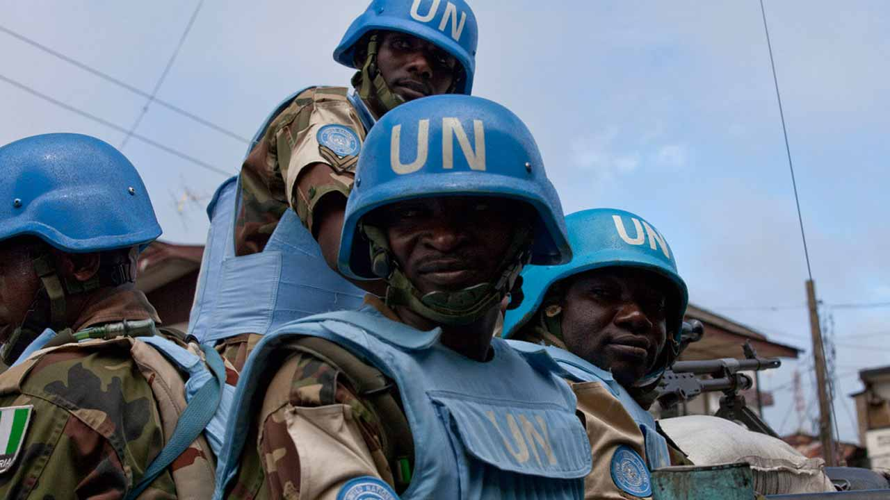 UN peacekeepers. PHOTO: www.un.org