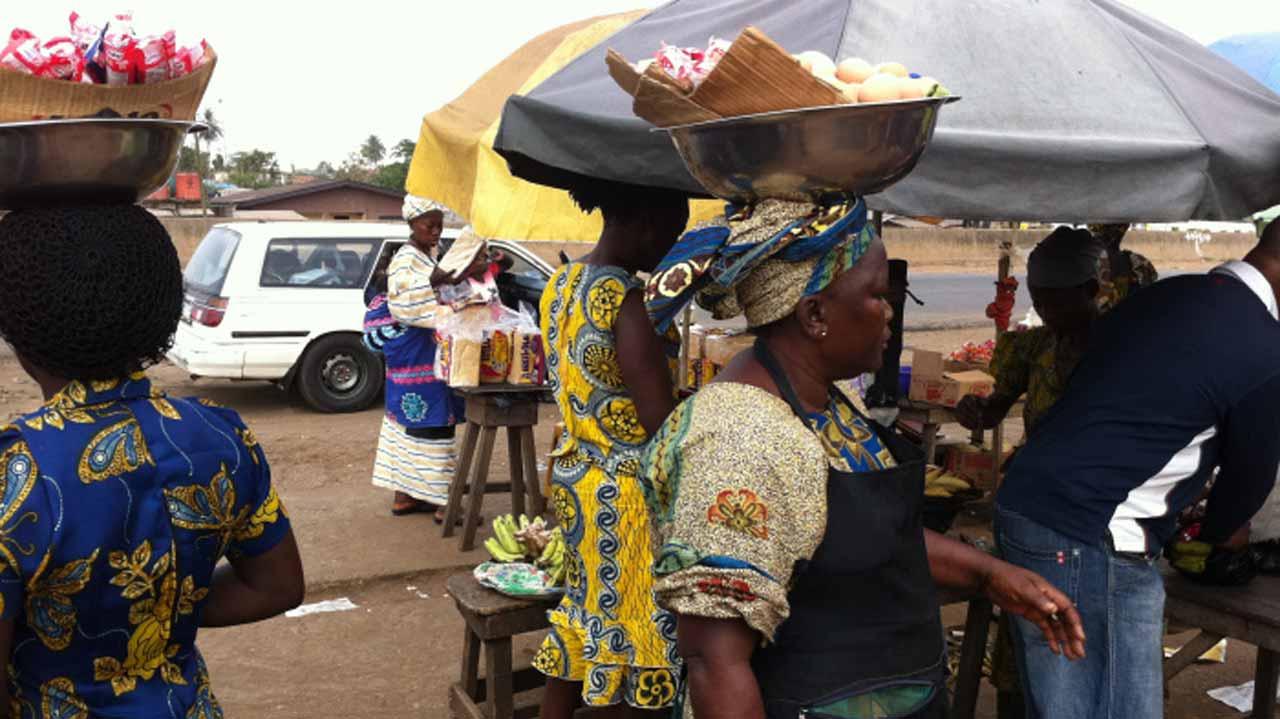 Street Hawkers in Ogun State.