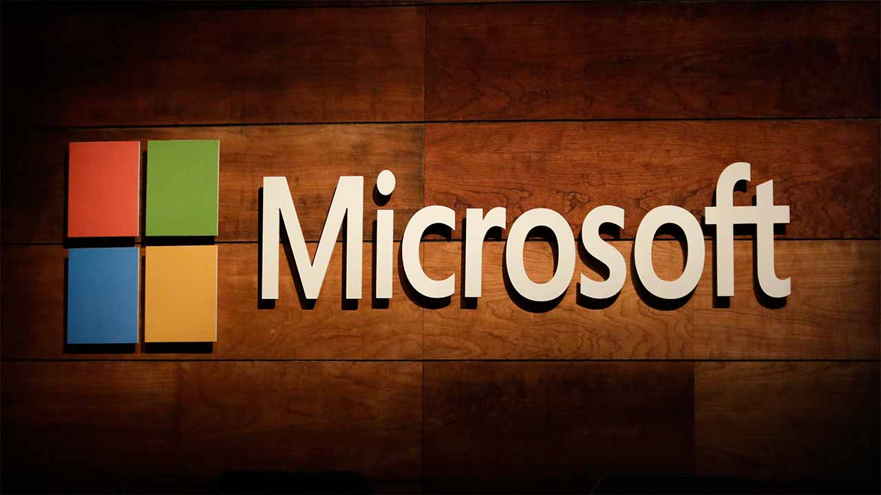 "(FILES) This file photo taken on November 30, 2016 shows the Microsoft logo at the Microsoft Annual Shareholders Meeting in Bellevue, Washington. Microsoft announced on January 13, 2017 a deal to buy Maluuba, a Montreal startup focused on making machines able to think the way people do. Bringing on board Maluuba co-founders Kaheer Suleman and Sam Pasupalak, along with their team from the startup, was intended to accelerate Microsoft's ""ability to develop software so computers can read, write and converse naturally,"" the company said. Microsoft did not disclose financial terms of the acquisition. PHOTO: Jason Redmond / AFP"