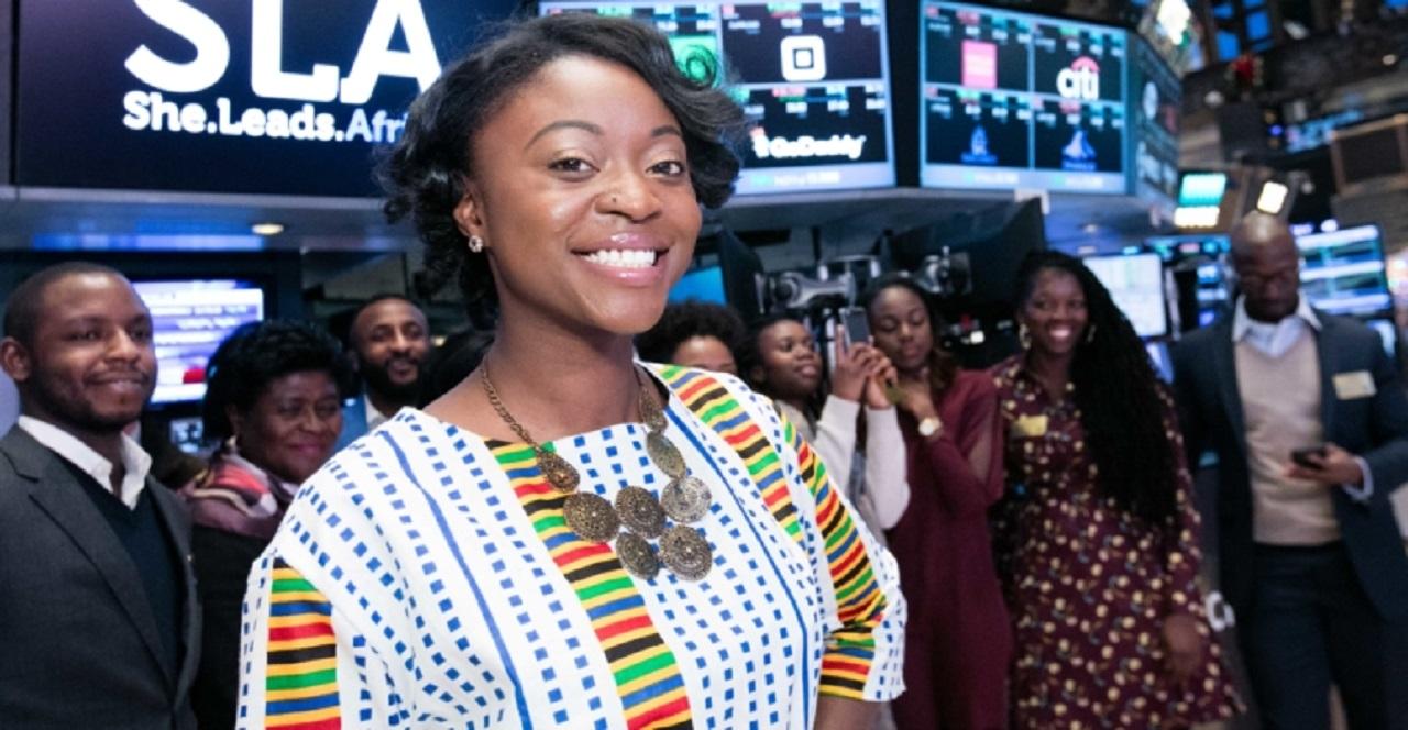 Afua Osei, co-founder of She Leads Africa
