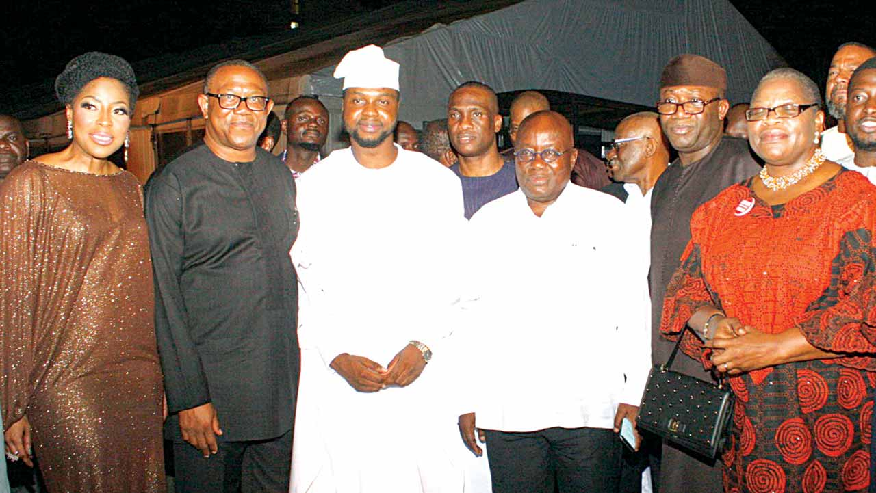 President-elect, Nana Akufo-Addo, when he visted Nigeria for The Futures Awards Africa at Federal Palace, Victoria Island, Lagos