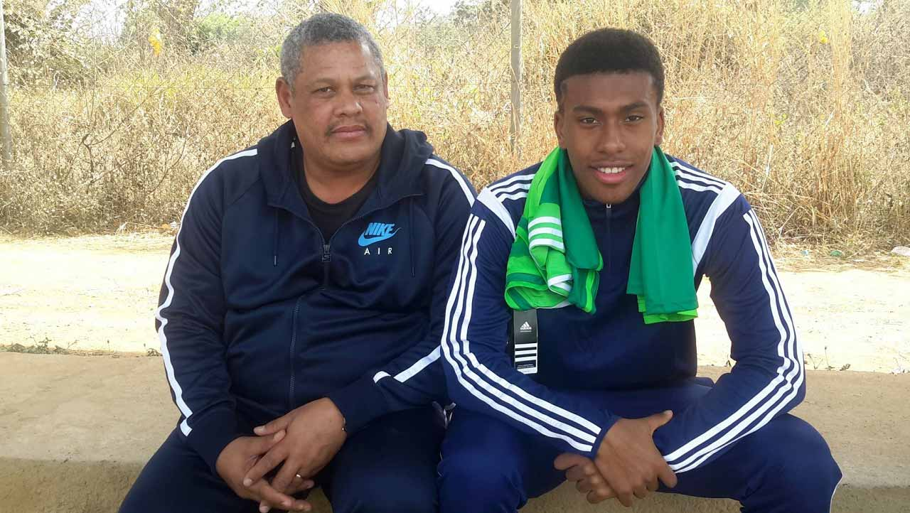 Picture of Alex  Iwobi Father, called Chuba