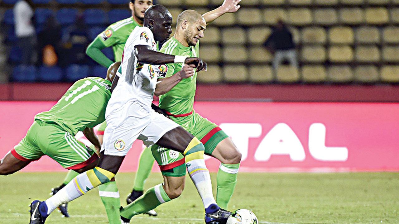 Algeria's 2-2 draw with Senegal effectively knocked the North Africans out of the on-going African Nations Cup in Gabon. It also forced Belgian, Georges Leekens, to resign as the Fennecs coach. 									       PHOTO: AFP.