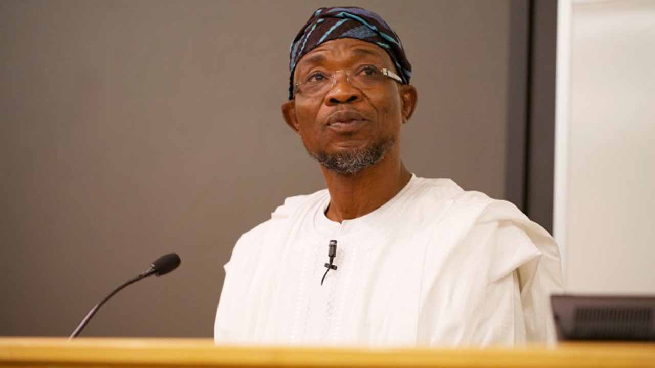 Rauf Aregbesola, Governor State of Osun.