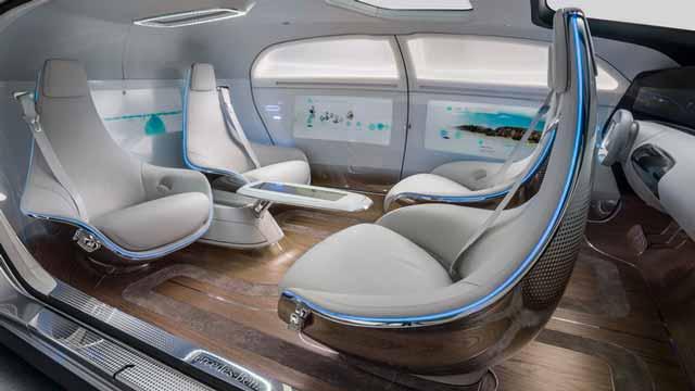 Benz interior