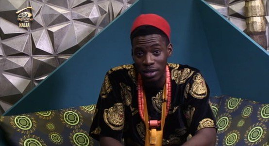 This screenshot image shows a housemate, Soma, in the Big Brother Nigeria house. The Nigerian government announced it will investigate why the show mean primarily for the Nigerian audience is being produced in South Africa. PHOTO: TWITTER/BIG BROTHER NAIJA