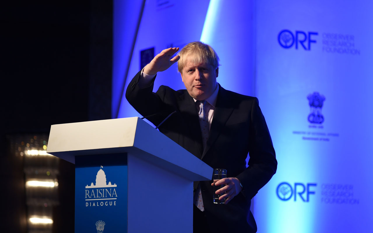 British Foreign Secretary, Boris Johnson  / AFP PHOTO / Sajjad HUSSAIN