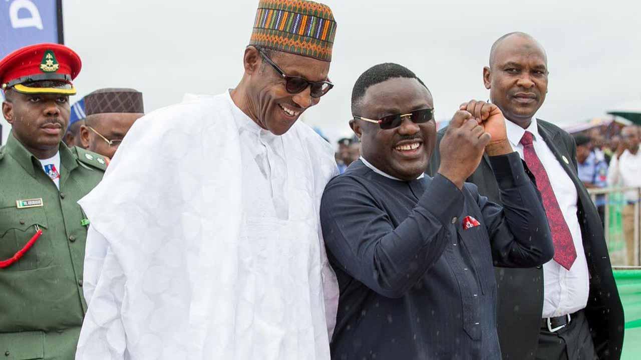 President Muhammadu Buhari and Cross River State Governor, Ben Ayade